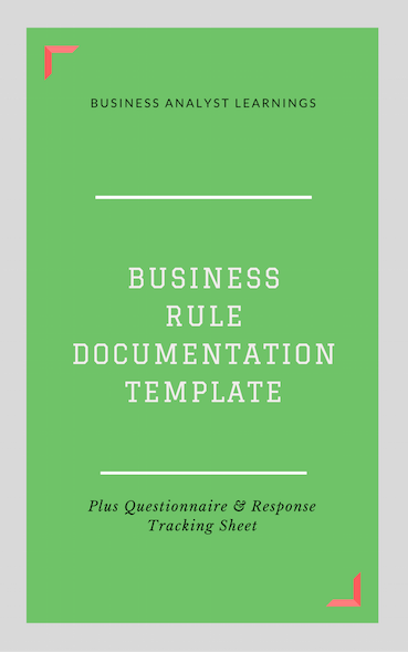 Business rule documentation questionnaire brdq business business rule documentation questionnaire brdq cheaphphosting Gallery
