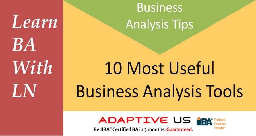Business Analyst Learnings