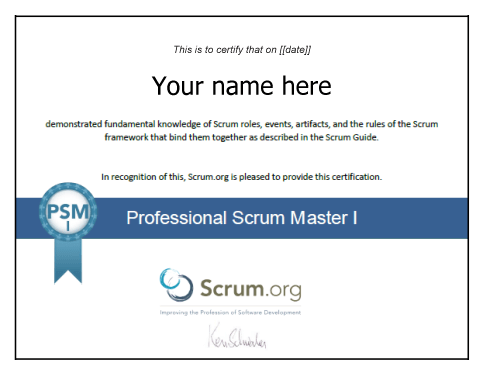Agile Business Analyst Certification The Professional Scrum