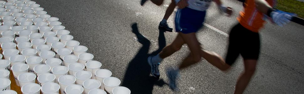 Hydration in fighting sports is as important as endurance sports