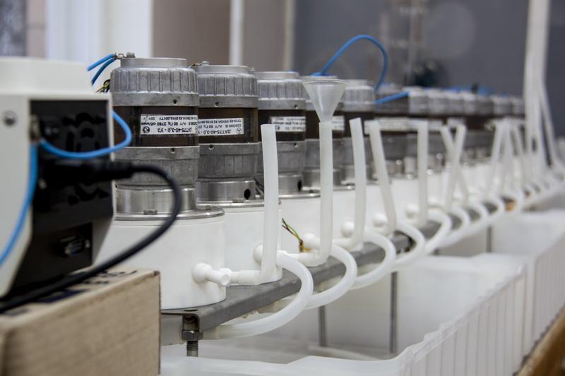 Лабораторная установка по разделению концентрата1.JPG