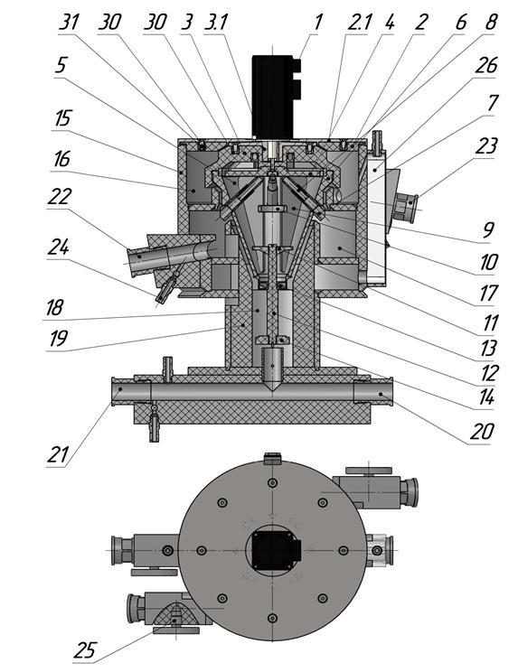 Рисунок 3 - Конструкция центробежного экстрактора
