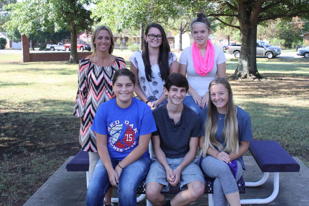 Mrs. Hale's Freshman AVID Class
