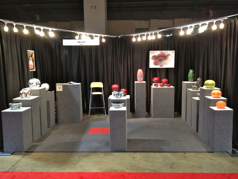 Philadelphia Museum of Art Craft Show Booth