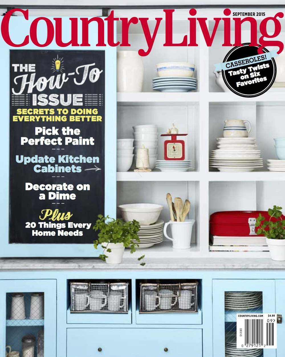 Sepetmber Issue Cover of Country Living