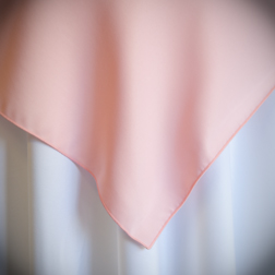 "Light Pink  Available In: 72"" and 84"""