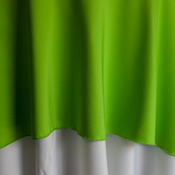 "Lime  Available In: 90"" and 120"""