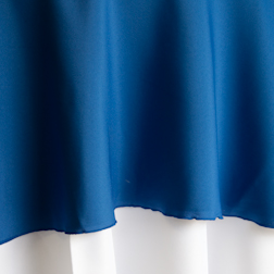 """Royal Blue  Available In: 90"""", 108"""", 120"""" and 132"""""""