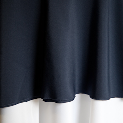"""Dark Navy Blue  Available In: 108"""" and 120"""""""