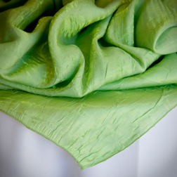 "Apple Green Crushed   Available In: 84"" Square"