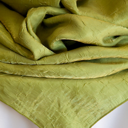 "Lime Green Crushed   Available In: 84"" Square"