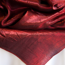 "Burgundy Crushed   Available In: 84"" Square"