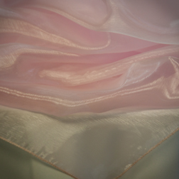Pink Mirror Organza Available In: 84x84