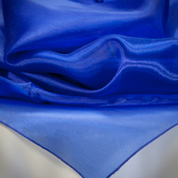 Royal Blue Organza Available In: 84x84