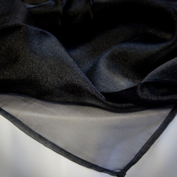 Black Sparkle Organza Available In: 81x81