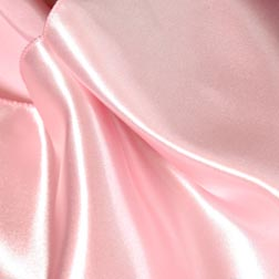 Light Pink Satin Topper