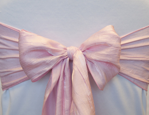 Pink Balloon Crushed Sash