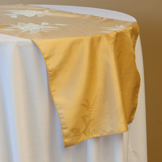 NEW! Gold Cambria Runner