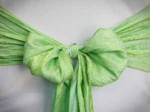 Green Apple Crushed Sash