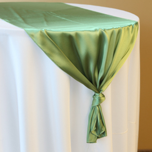 Green Apple Satin Runner