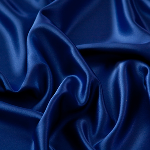 Royal Blue Satin Topper