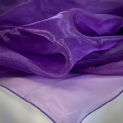 Royal Purple Organza Topper