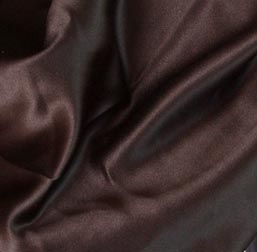 Chocolate Satin Topper