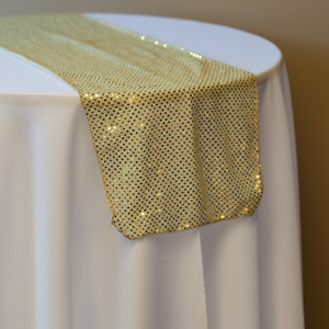 Disco Gold Sequin runner