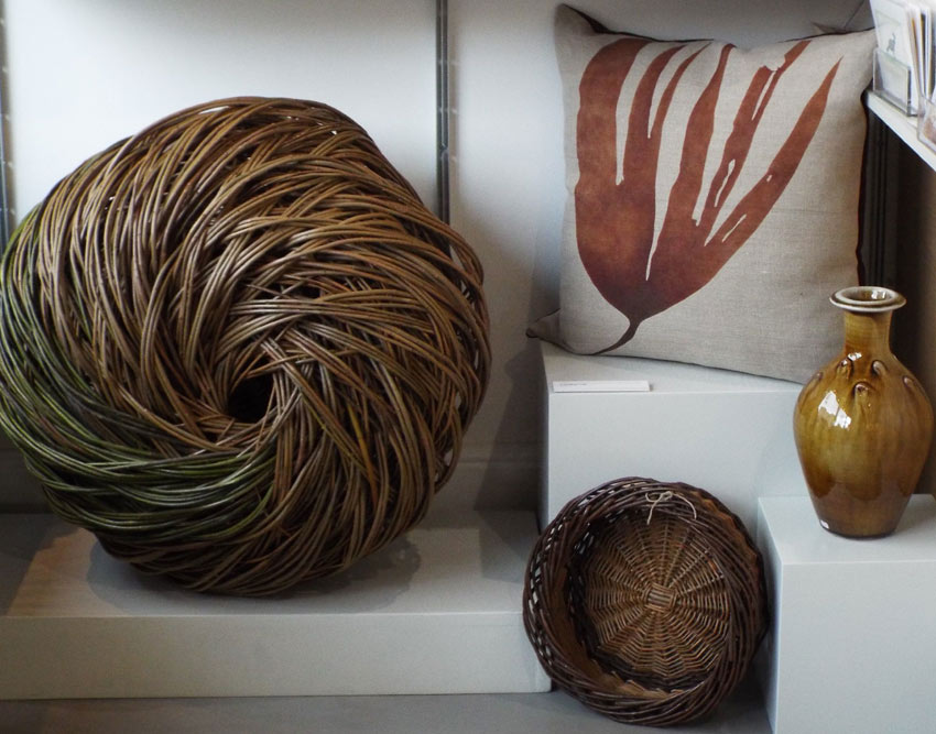 Seaweed Cushions in the shop © Francesca Chalk