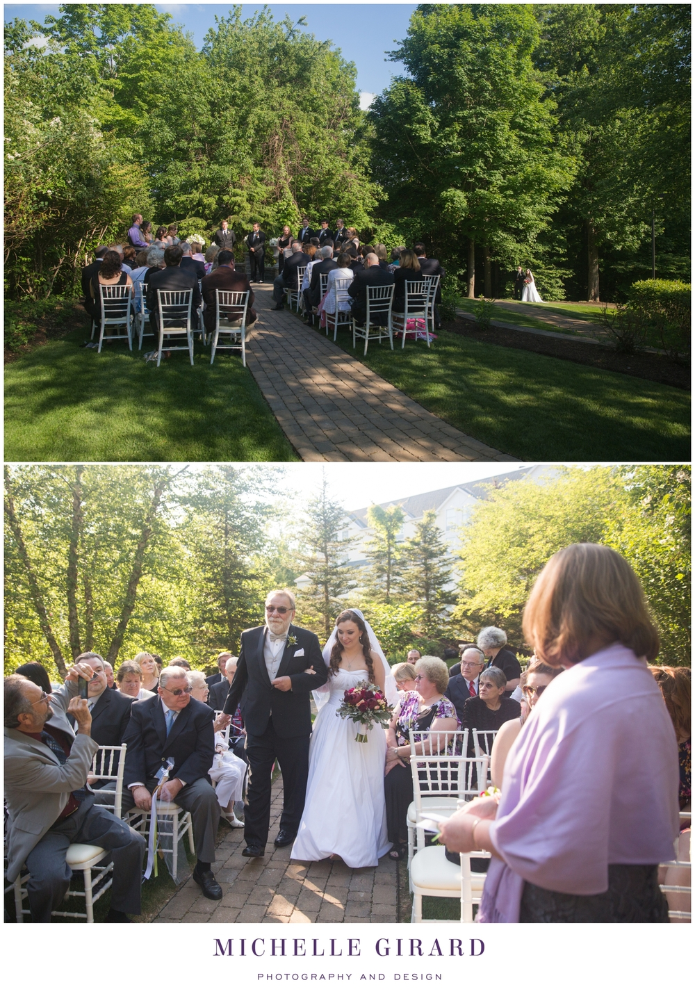 Delaney House June Wedding In Holyoke Ma Outdoor
