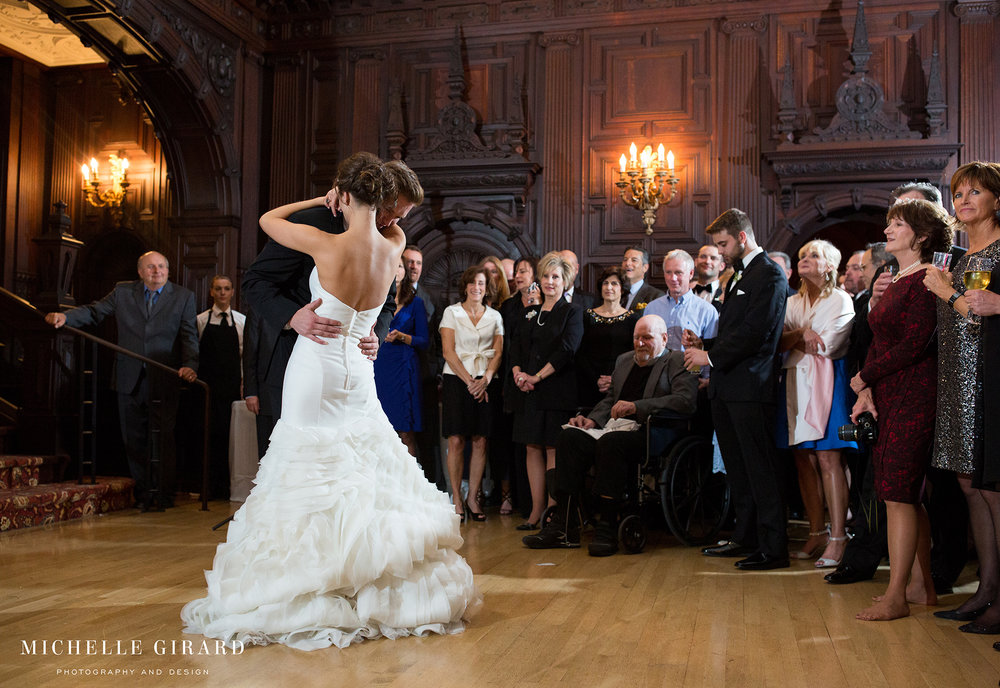 Fall Wedding Reception At The Branford House In Groton Ct