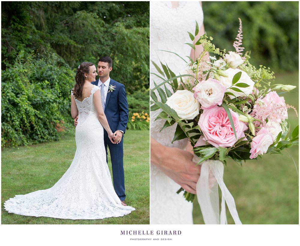 Lakeside Summer Tent Wedding in the Berkshires :: Family Home in ...