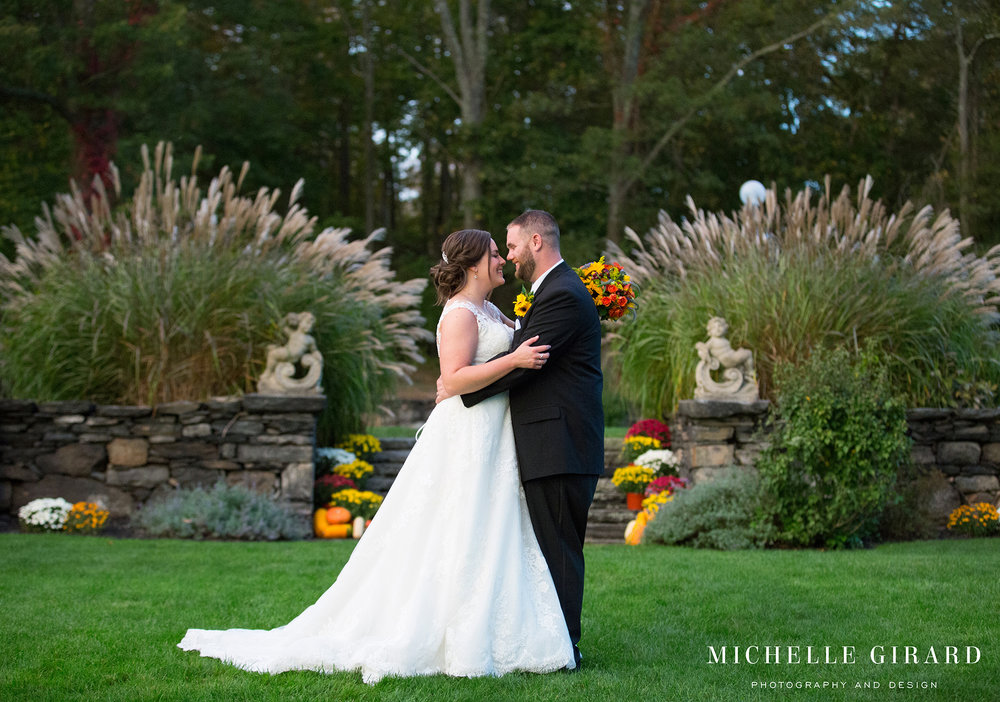 Saint Clements Castle Fall Wedding Reception South United