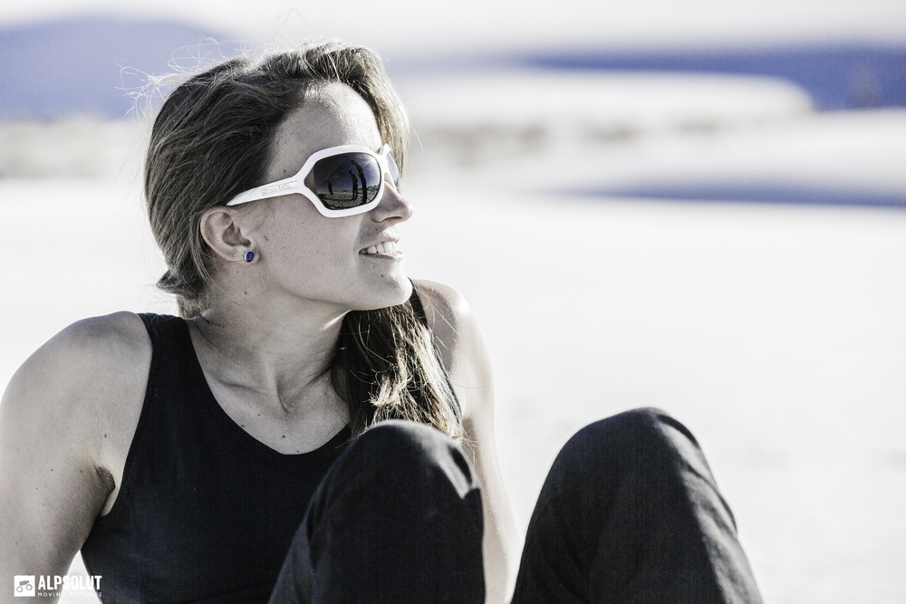 just chillin' in the white sands pic: hannes mair