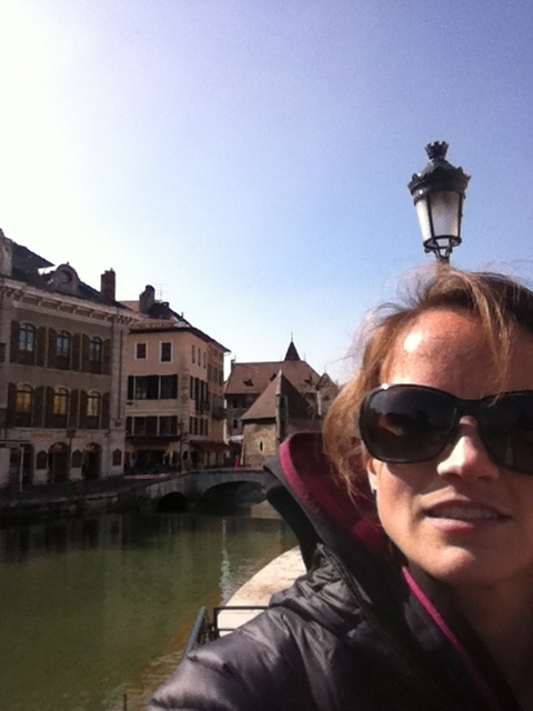 enjoying Annecy