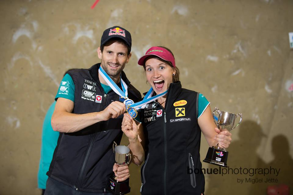 wohoooo-nothing is better in a comp than winning alongside with kilian- pic: jetté