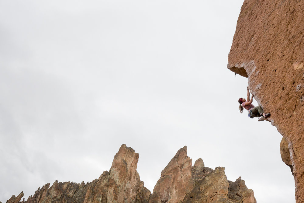 """Chain reaction"" Smith Rocks, USA. pic: Fichtinger"