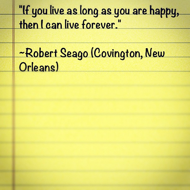 Great quote from one of our most prominent interviewees! (Taken with  Instagram )