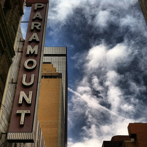 #denver (Taken with  Instagram  at Paramount Theatre)