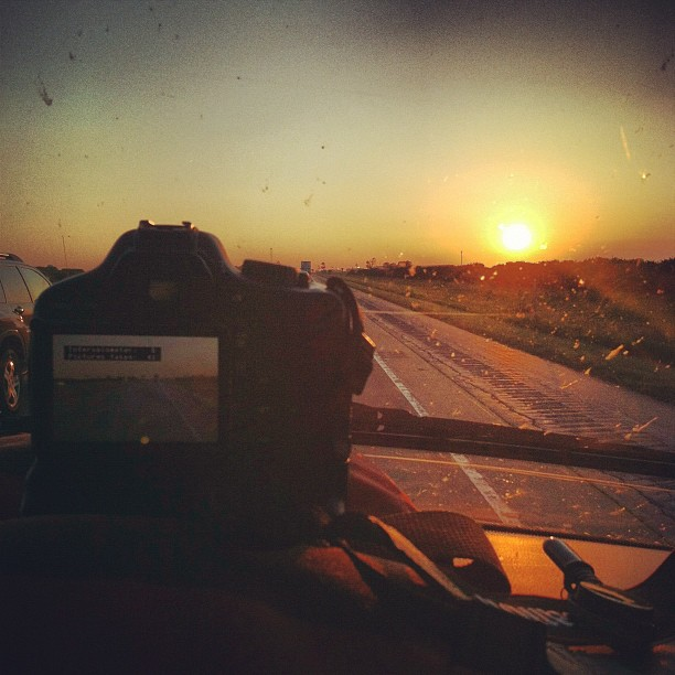 Time lapse truckin (Taken with  Instagram  at Iowa 80 Truckstop)