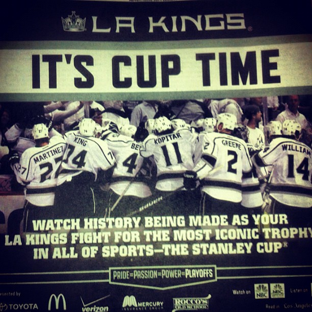 Go Kings! (Taken with  instagram )