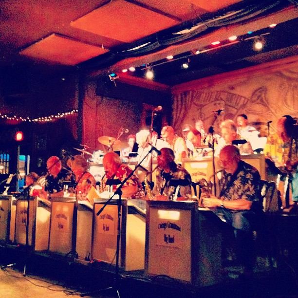 Chicago Grandstand Big Band (Taken with Instagram at FitzGerald's)