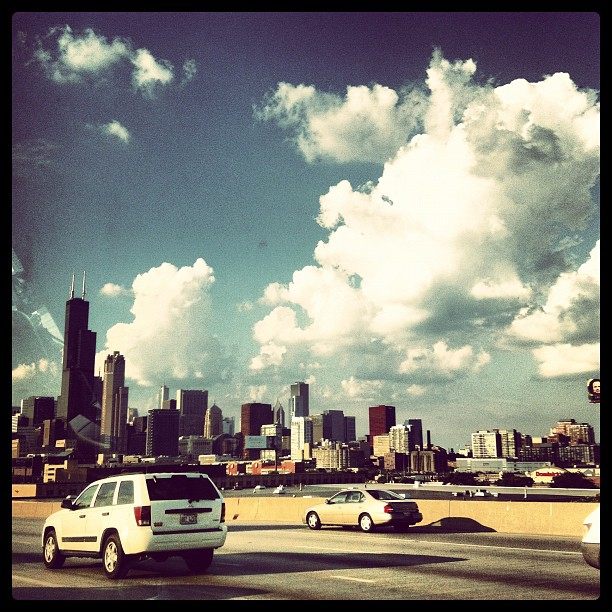 Just arrived in the windy city! (Taken with  Instagram  at Chicago IL)