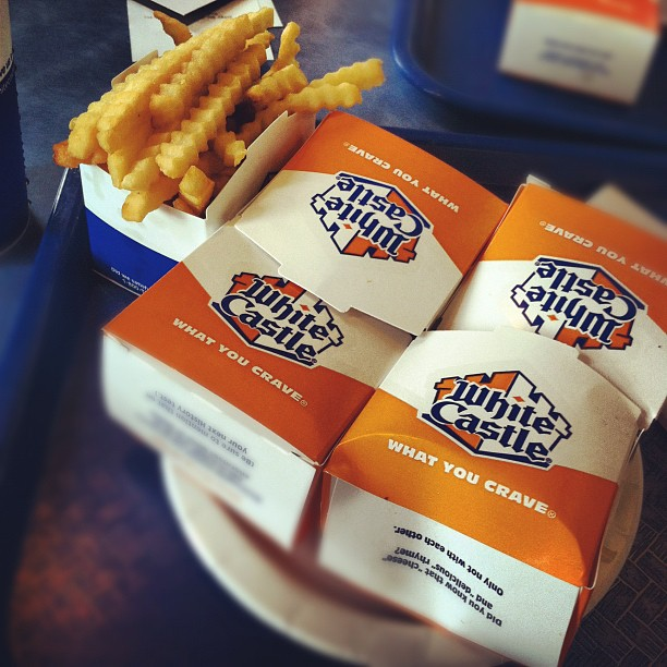 Snack city b*tch (Taken with  Instagram  at White Castle)