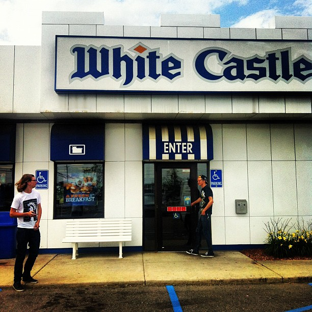 Thought we'd give it a try. (Taken with  Instagram  at White Castle)