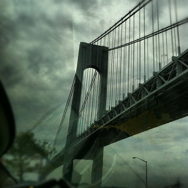 Under the bridge (Taken with  Instagram  at Under The Verrazano)