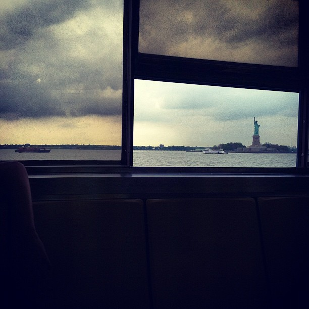 Lady #liberty #ny #amarvelousera (Taken with  Instagram  at Staten island ferry)