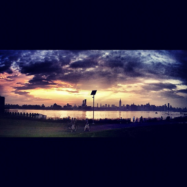 New York skyline at its finest. (Taken with  Instagram  at East River State Park)