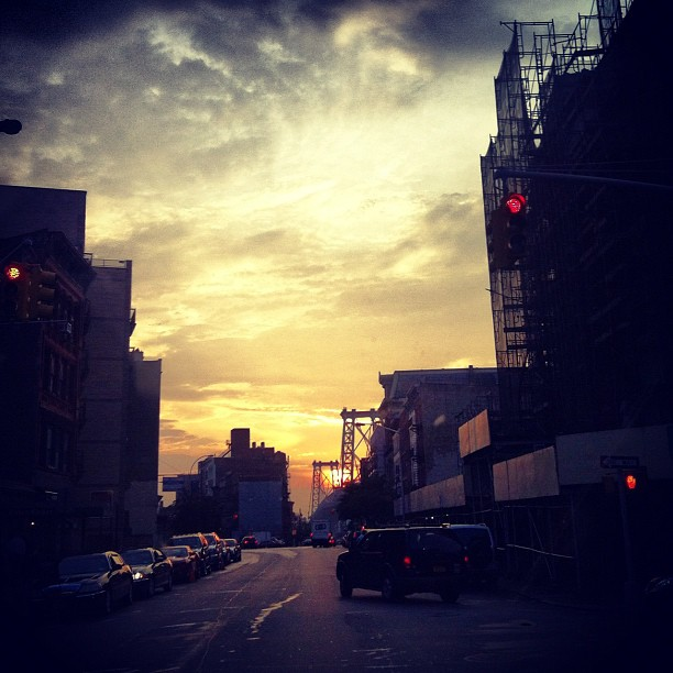 Brooklyn Sunset (Taken with  Instagram  at Brooklyn, NY)