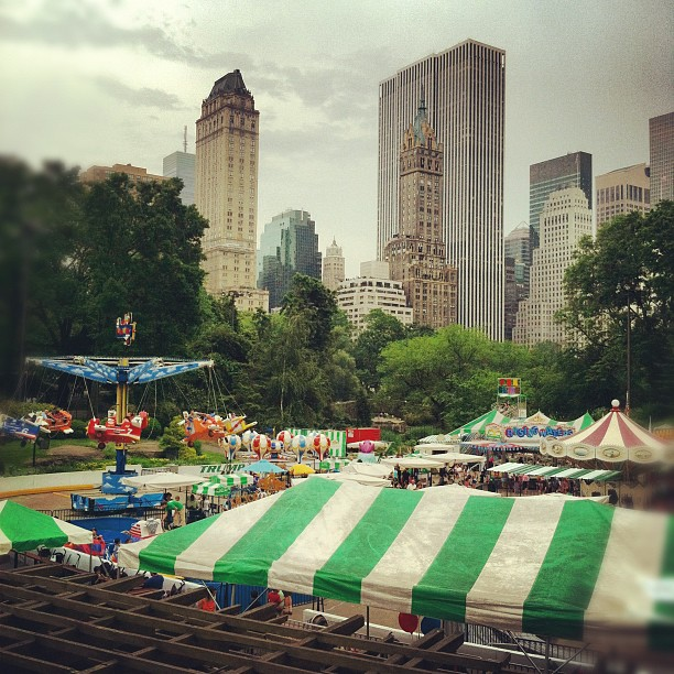 Central park #ny (Taken with  Instagram  at Wollman Ice Skating Rink)